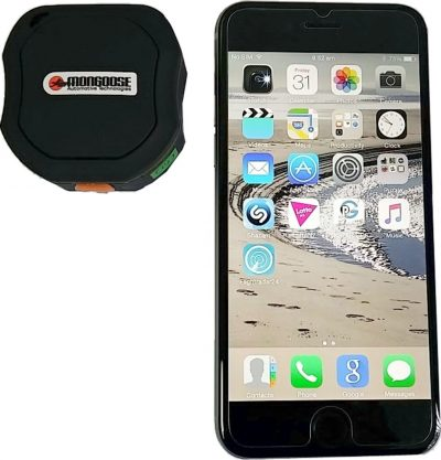 Mongoose PT890 GPS Tracker With Free Mobile APP - Uninstalled