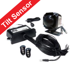 AVS S5 Car Alarm Including The Digital Tilt Sensor For Wheel & Tow Protection Installed