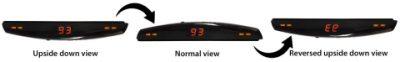 RASD – optional rotatable LED display