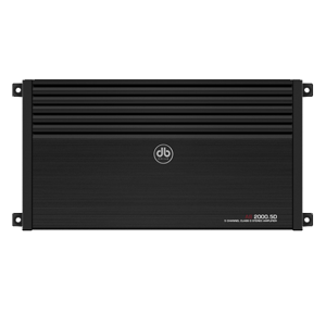 DB Drive A8-2000.5D 5 Channel Class D Full Range Amplifier / 2000 Watts