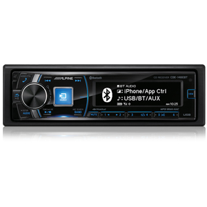 Alpine CDE-148EBT CD RECIEVER BLUETOOTH / USB / iPod
