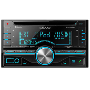 Kenwood DPX500BT Double DIN In-Dash Car Stereo Receiver