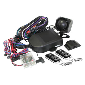 Mongoose M60G Car Alarm Installed