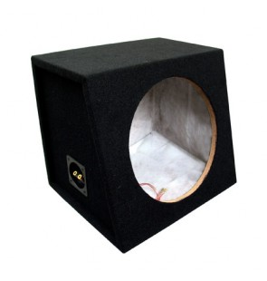 10″ Carpeted Sealed Sub Box