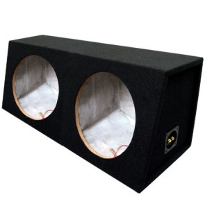 12″ Dual Carpeted Sealed Sub Box