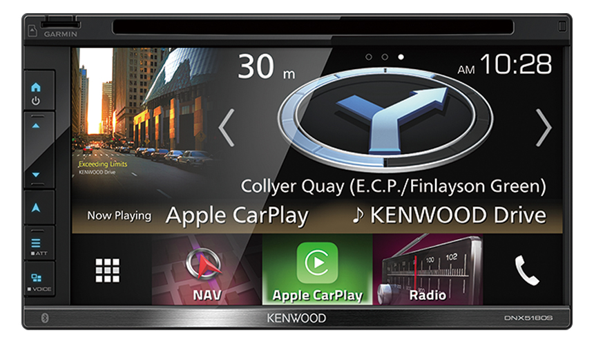 Kenwood DNX5018S Dual Bluetooth Apple CarPlay & Android Auto Waze Nav-app  DVD USB NZ Tuners 3x Pre Outs Car Stereo