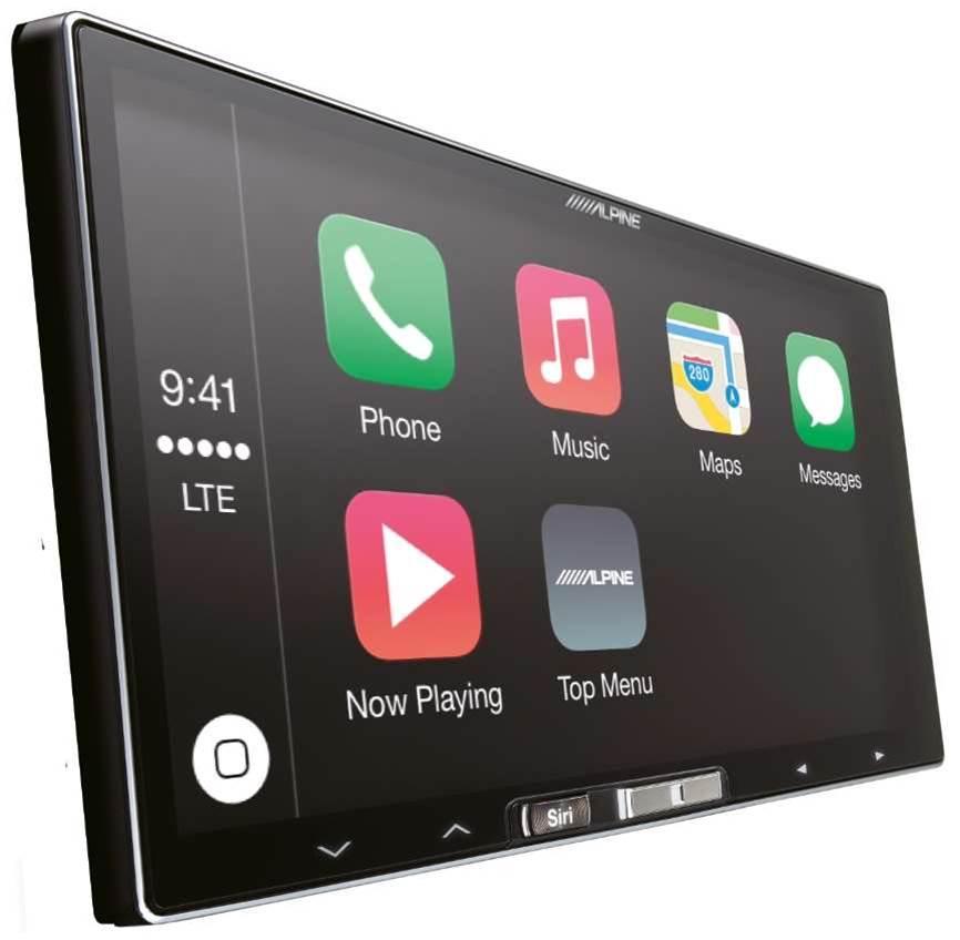 Alpine Ilx 007e Bluetooth Apple Carplay Usb Aux Car Stereo